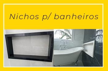 nichos para banheiros